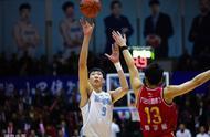 周琦得到18分15篮板,新疆险胜吉林成CBA唯一全胜球队