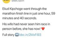 遗憾!基普乔格全马跑入2小时,创盖世纪录,却不被国际田联认可