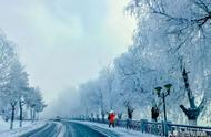 今冬吉林市第一场雾凇惊艳亮相,小伙伴们都惊呆了……