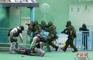 恐怖分子制炸弹恐袭?香港举行跨部门反恐演习