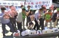 韩国人抵制日货:超市下架札幌啤酒、踩日企纸箱泄愤