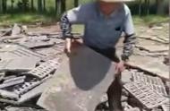 河南固始警方调查货车侧翻村民哄抢33吨井盖舆情!称将严格处理