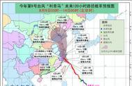 首个台风红色预警是怎么回事?9号超强台风利奇马最新消息路径图
