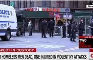 纽约唐人街4流浪汉夜里睡觉时遇袭身亡 24岁嫌犯被拘