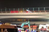 江苏无锡高架桥桥侧翻事故已致3死2伤