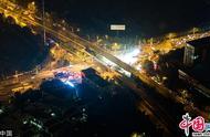 江苏无锡一高架桥发生垮塌 航拍事故现场