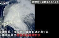 """强台风""""海贝思""""过境后,日本小岛遭巨浪吞没消失,市民深表遗憾"""