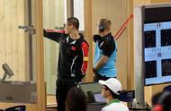 军运会:射击——中国代表团首金产生