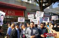 何君尧穿仿刺背心现身竞选现场 支持者:香港需要何君尧
