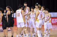 篮球——女篮东京奥运会资格赛:中国胜新西兰