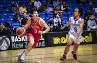 78分大胜菲律宾 中国女篮杀入奥运资格赛