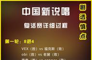 中国新说唱复活赛详细过程(剧透慎点)