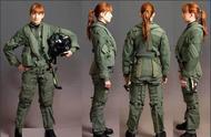 抗荷服白手套,太阳镜大手表,这是战机飞行员装具,你想拥有吗?
