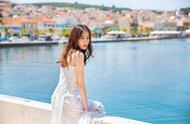 迪丽热巴结婚了?白色婚纱飘飘似仙女下凡,但是对象却是它