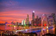 今日的广州晚霞,太美了!