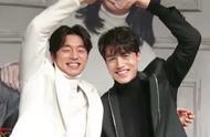 孔刘、李栋旭一同参加健身教练婚礼,大合影时还比心了