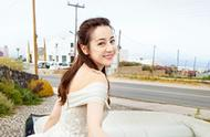 迪丽热巴:唯美迷人婚纱图