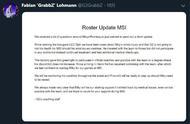 LOL:G2主教练发声明,Mikyx将成为MSI首发