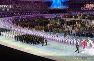 """军运会开幕式现场中国军体健儿齐步走,再现""""阅兵""""盛况"""