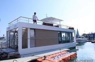"""太惊艳!青岛造""""房船"""",放到海里就是无敌海景别墅"""