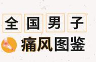 """全国男人痛风图鉴:东北人因胖上榜,广东人凭""""实力""""沦为重灾区"""