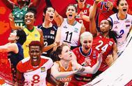 国际排联官方女排世界杯海报出炉!朱婷入围,占据显眼位置