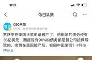 驳甘薇:贾跃亭从老大到老赖不是创业者的世态炎凉,而是能力验证