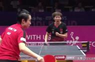 刘国梁现场督战!朱雨玲拒绝崩盘4-2淘汰冯天薇 进世界杯决赛争冠