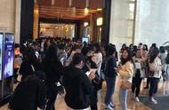 王俊凯济南品牌见面会人气好高,整个酒店满眼望过去都是人