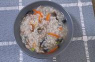 北京降温了 开始烧暖气吃点热乎的 皮蛋瘦肉粥做法简单