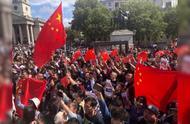 """全球多地举行爱国护港和平集会,华人高唱国歌怒怼""""港独"""""""