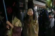 """日本京都街头的""""百鬼夜行""""活动,好逼真!混进真的也看不出.."""