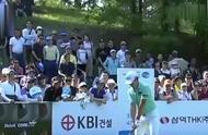 韩国高尔夫选手对观众怒竖中指 遭禁赛三年处罚 事后下跪致歉