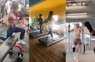 健身房,无意间拍到了这一幕,瞬间刷新了我对健身的认知!