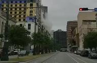 新奥尔良在建酒店突然倒塌