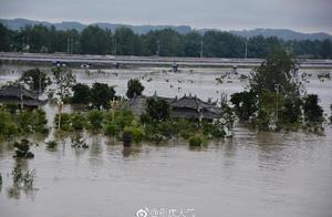 今年最大洪峰过境 潼南铜梁合川被淹