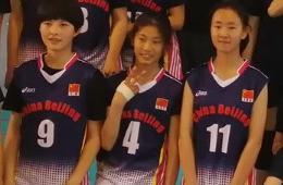 朱婷妹妹朱佳荟出道打球!12岁1米6打二传 长相神似姐姐性格更活泼