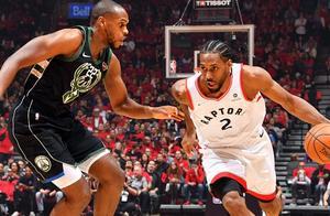 NBA:猛龙晋级总决赛创24年历史!莱昂纳德27+17+7,字母哥21+11