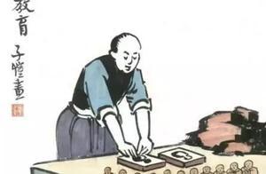 直戳教育的痛点,丰子恺漫画,至今仍发人深省