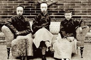 末代皇帝溥仪一些实拍老照片,最后一张是他选的太子