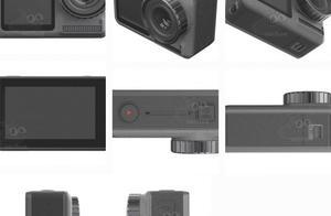 相关参数曝光 大疆Osmo Action运动相机采用前后双屏设计