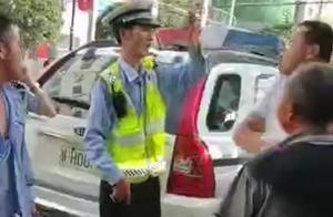 调查|陕西镇安协警纠违时被咬伤执法记录仪被打飞