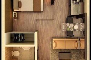 单身公寓户型,你喜欢哪种?! 