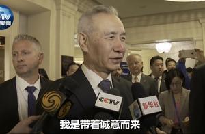 刘鹤接受媒体采访