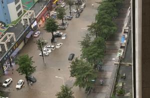 昨天东莞8个镇街降水超过100毫米,多个区域内涝积水严重