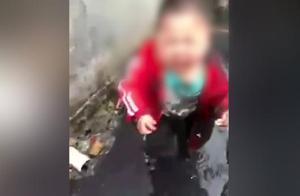 男子虐待3岁儿子拍视频气妻子,被刑拘