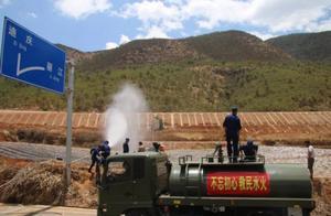 云南丽江旱情严重 有村子近7000亩农作物严重受旱