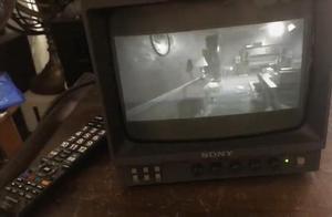 用黑白电视玩《生化危机7》网友:这才是真恐怖游戏