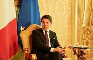 意大利总理孔特威胁辞职 要求执政联盟停止内讧