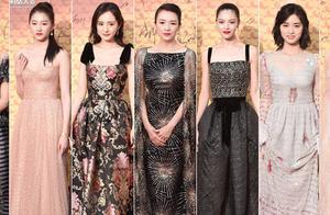 亚洲影视周开幕星光璀璨,众女星红毯争艳,这次钟楚曦稳赢了